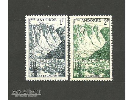 Andora - poczta francuska.