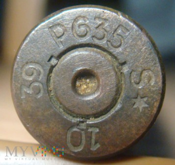 Łuski 7,92x57 Mauser 1939r. P635