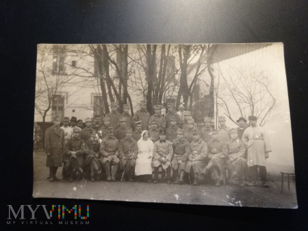 Zdjęcie żołnierzy, prawdopodobnie powstańcy