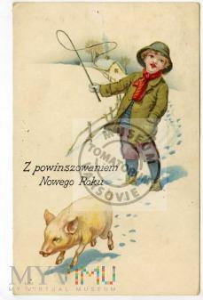 Świnka Noworoczna - 1925