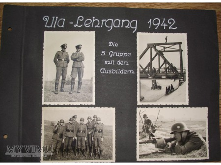 Duże zdjęcie Poligon- szkolenie 1942 Wehrmacht
