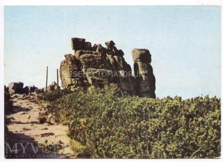Karkonosze - Słonecznik - skałki - 1965
