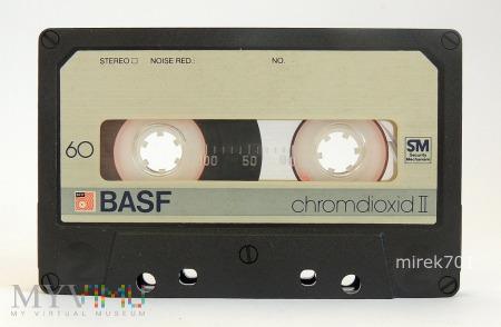 BASF chromdioxid II 60 kaseta magnetofonowa