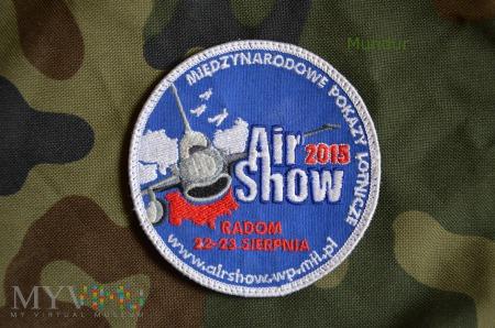 Duże zdjęcie Oznaka pamiątkowa AirShow 2015