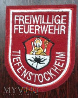 Oznaka Freiwillige Feuerwehr TIEFENSTOCKHEIM
