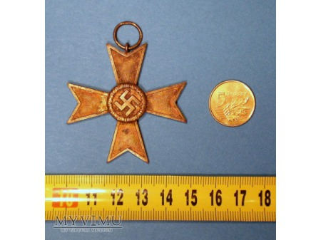 Krzyż KVK II. Klasy Bez Mieczy