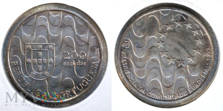 Portugalia, 200 ESCUDOS 1992
