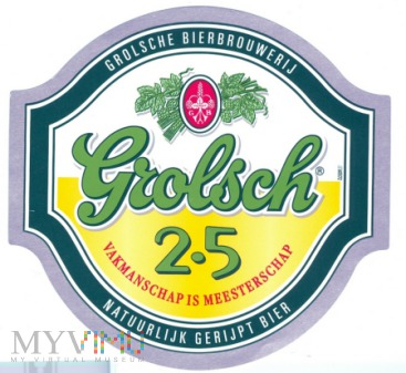 Duże zdjęcie Grolsch 2.5