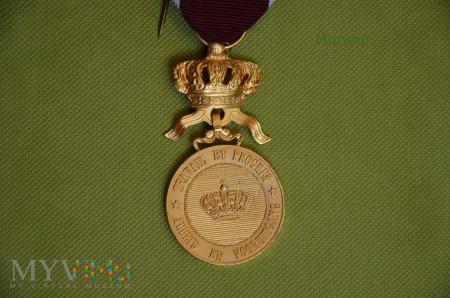 Belgijski Złoty Medal Orderu Korony