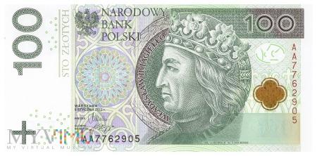 Polska - 100 złotych (2012)