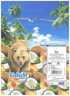bernard edek z fabryki kredek kokos & brzoskwinia