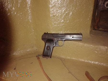 7,62 mm pistolet wz. 33 TT.