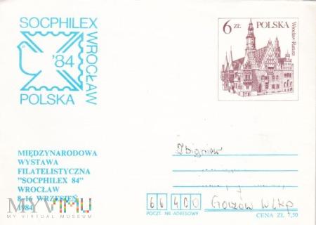 Koperta ze znaczkiem