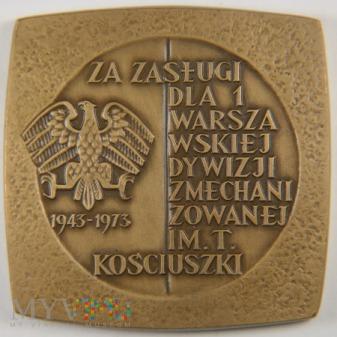 1972 - 31/72 - Za zasługi dla 1 Warszawskiej Dywiz