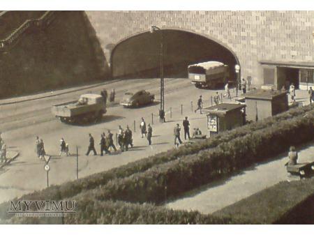 Warszawa Traza W-Z pocztówka PRL zdjęcie l. 60-te