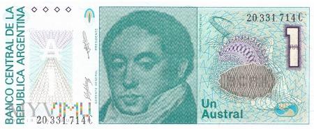 Argentyna - 1 austral (1989)