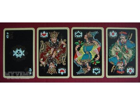 czarna talia kart