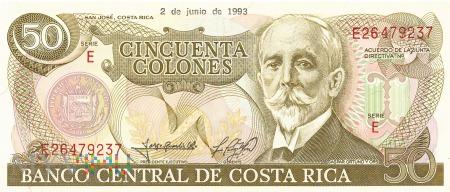 Kostaryka - 50 colonów (1993)