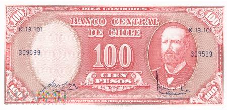 Chile - 10 kondorów (1961)