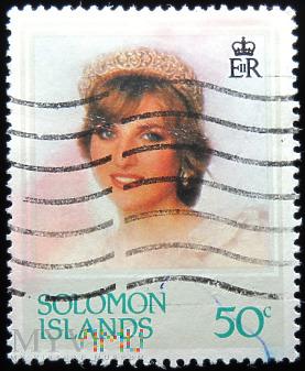Wyspy Salomona 50c księżna Walii Diana