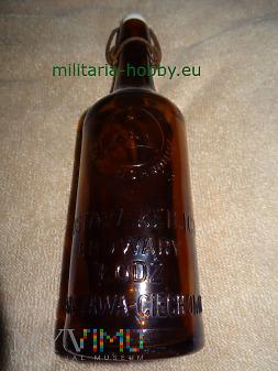 Przedwojenna butelka browar Gustaw Keilich