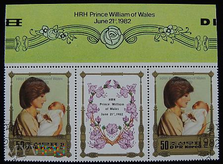 DPR Korea Księżna Diana i Książę William