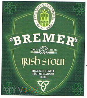bremer's irish stout