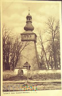 Rabka.Stary kościół 500-letni.