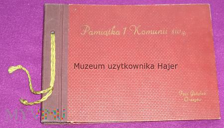 Pamiątka 1 Komunii św Foto Gołębek Orzegów - album