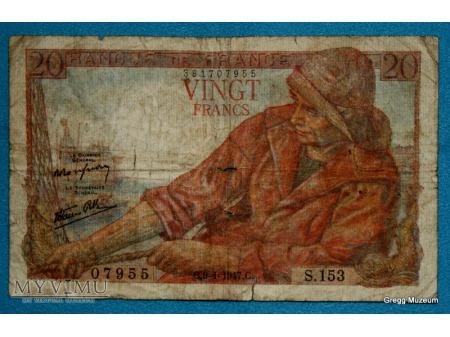 20 franków 1947