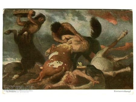 Arnold Böcklin Walka centaurów Centaurs Fighting
