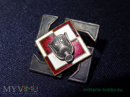 Odznaka L.O.P.P. szachownica