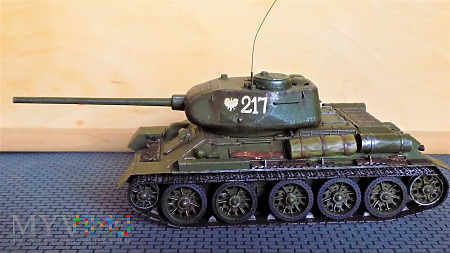 T-34-85 S-53 1944 fabr. 183 w Niżnim Tagile