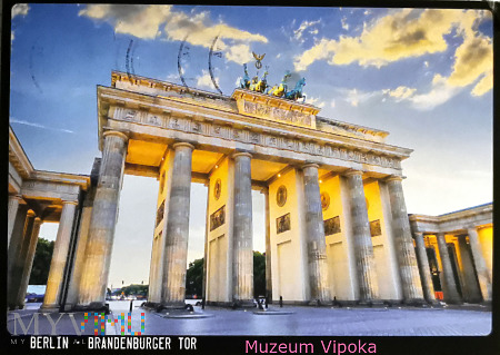 Berlin - Kwadryga na Bramie Brandenburskiej (2020)