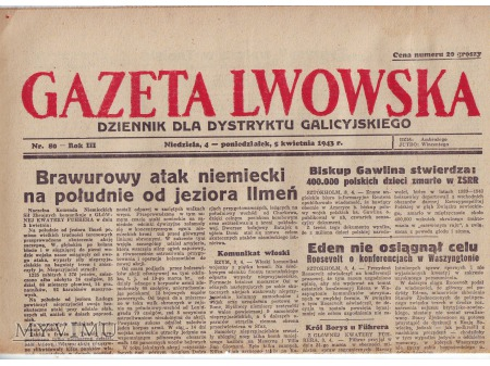 Gazeta Lwowska (5 IV 1943)