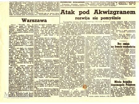 Dziennik polski i dziennik żołnierski