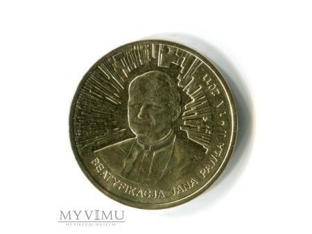 Duże zdjęcie 2 zł Beatyfikacja Jana Pawła II NG 2011 moneta