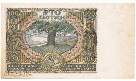 100 złotych - 1934 rok.