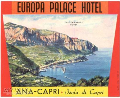 Włochy - Capri - Hotel
