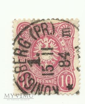 10 pfennig Konigsberg 1884 r.