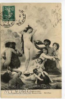 Bouguereau - Narodziny Venus