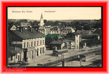 MIĘDZYCHÓD Birnbaum , Dworzec kolejowy