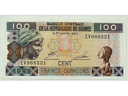 Nowa Gwinea- 100 Franków UNC