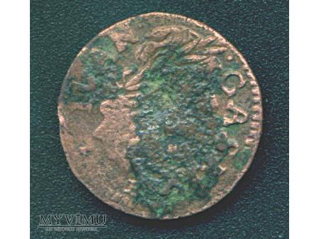 szeląg koronny 1664 2