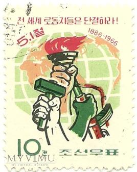 Korea Północna - Święto Pracy