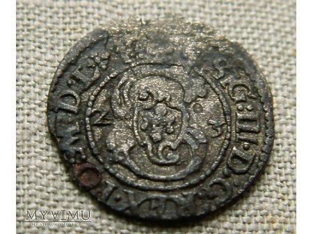 Szeląg mennica Wilno- 1623 r- rzadki