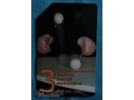 3 Międzynarodowy Festiwal Muzyki Perkusyjnej 2002