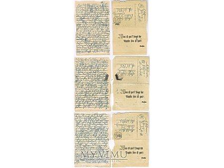 Duże zdjęcie Feldpost 21.01.1945
