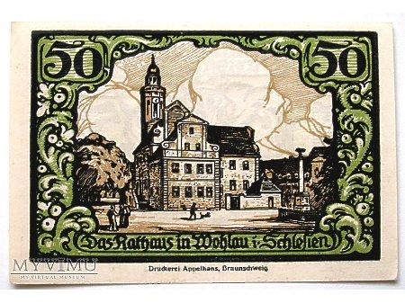 Wołów- Pieniądz zastępczy 50 pf