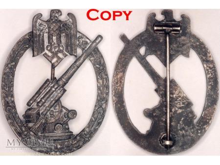 Odznaka Artylerii Przeciwlotniczej Armii